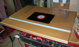 Изготовление фрезерного стола своими руками
