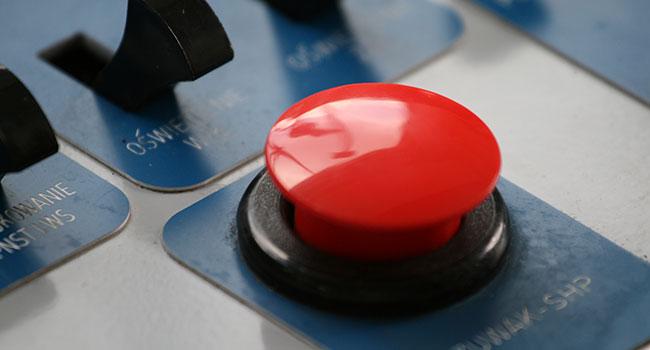 Экстренная кнопка выключения