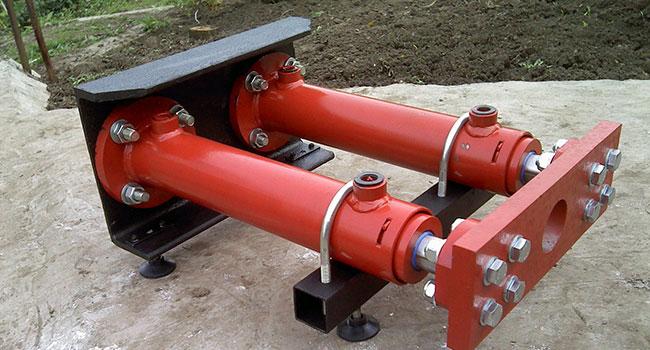 Горизонтальный гидравлический агрегат